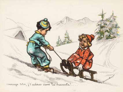 Courage totor, j't'aiderai dans la descente !...